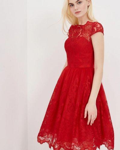Красное платье Chi Chi London
