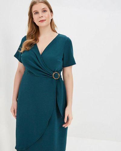 Повседневное платье весеннее зеленый Dorothy Perkins Curve