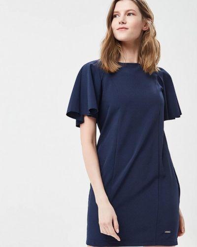 Синее платье-футляр Top Secret