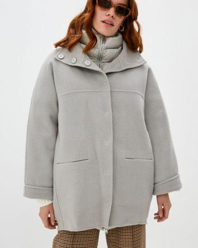 Серое пальто Add