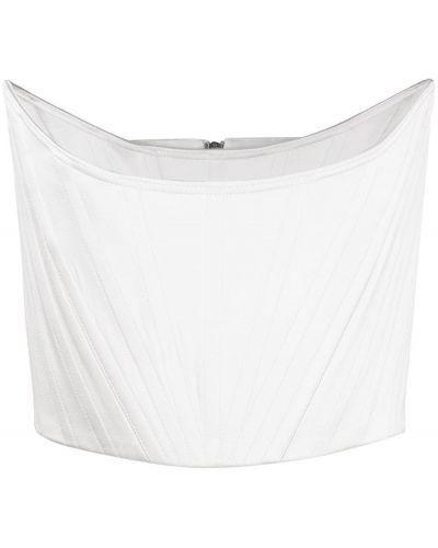 Biały gorset bawełniany Alex Perry