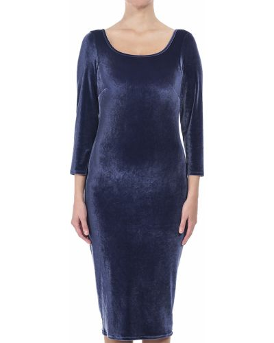 Платье осеннее фиолетовый Patrizia Pepe