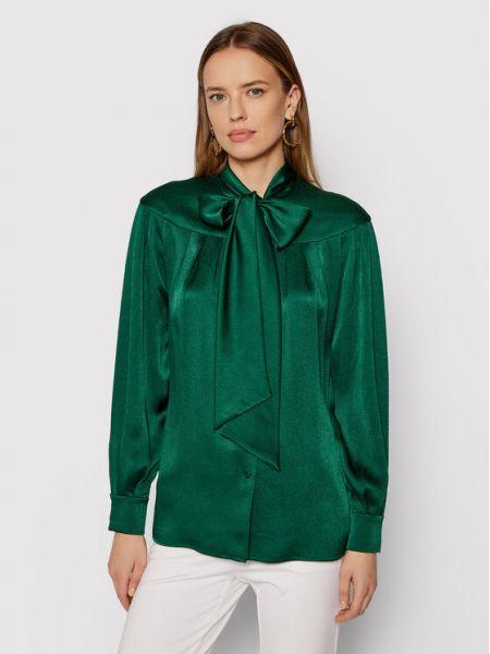 Zielona bluzka Luisa Spagnoli