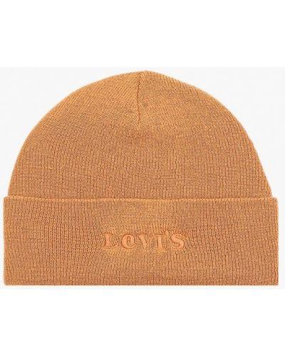 Бежевая шапка Levi's®