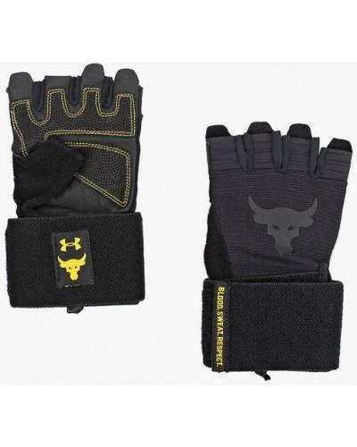 Черные зимние перчатки Under Armour