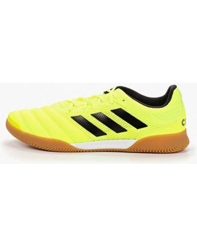 Бутсы бутсы-многошиповки желтый Adidas