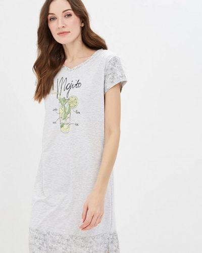 Платье весеннее серое Vis-a-vis