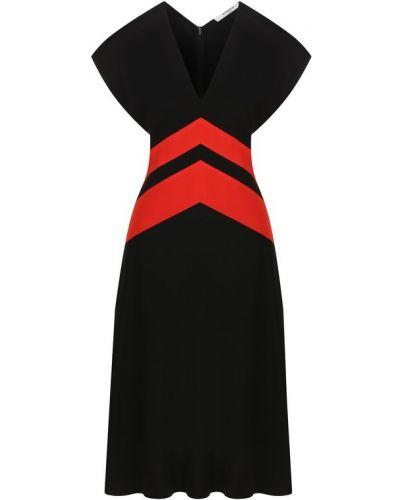 Платье шелковое черное Givenchy