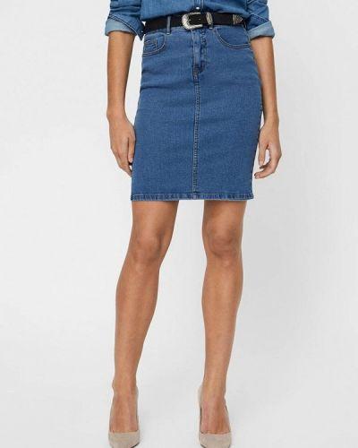 Джинсовая юбка синяя Vero Moda