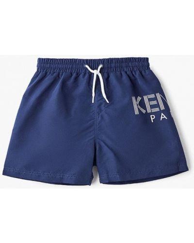Плавки синие Kenzo