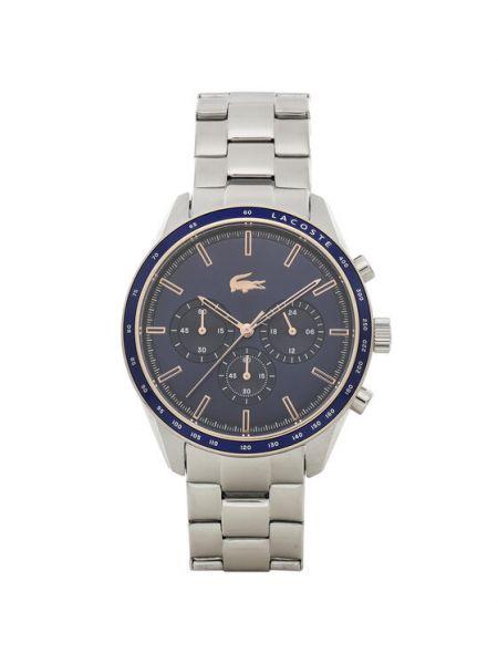 Zegarek srebrny Lacoste