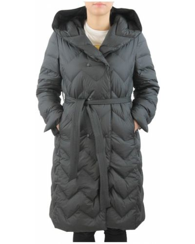 Czarny płaszcz Bosideng