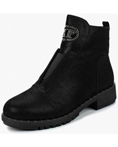 Ботинки на каблуке осенние замшевые Baden