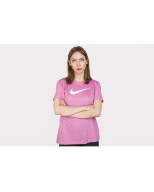 Różowe polo bawełniane Nike