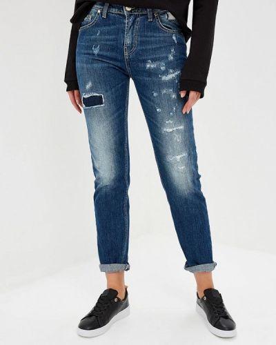 Синие прямые джинсы Frankie Morello