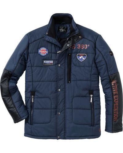 Куртка темно-синяя синяя Bonprix