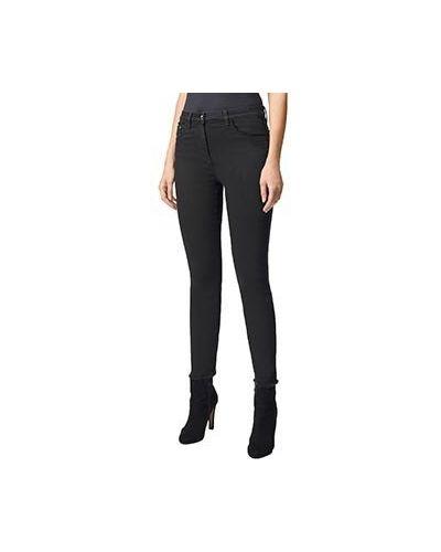 Зауженные джинсы - черные Luisa Spagnoli