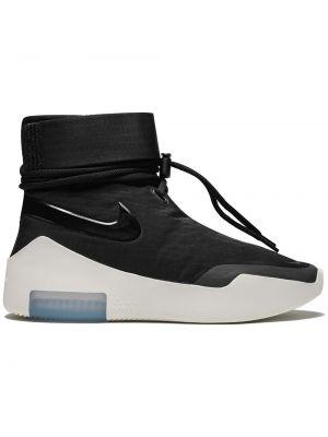Кроссовки черные на молнии Nike