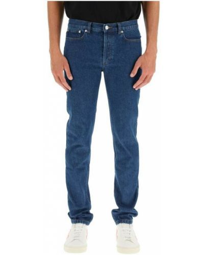 Niebieskie mom jeans A.p.c.