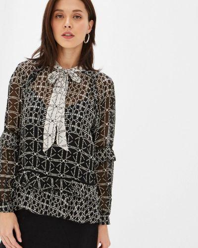 Блузка с длинным рукавом турецкий черная Lusio