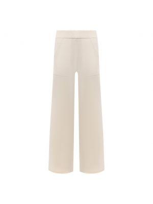 Кашемировые брюки - белые Not Shy