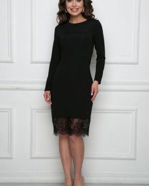 Облегающее платье сетчатое классическое Bellovera
