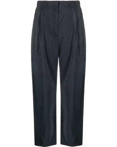Шелковые брюки - серые Lemaire