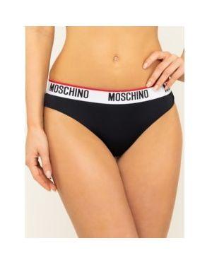 Czarne figi Moschino Underwear & Swim