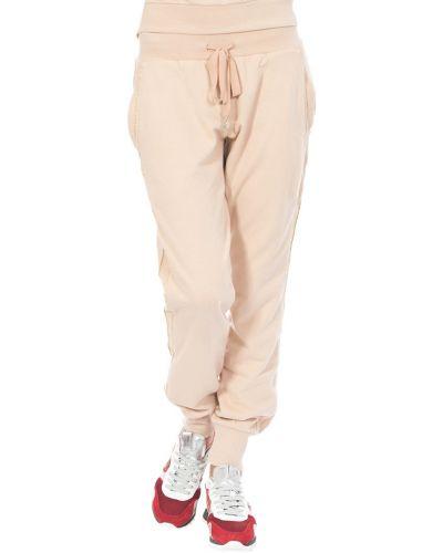 Бежевые спортивные брюки Patrizia Pepe