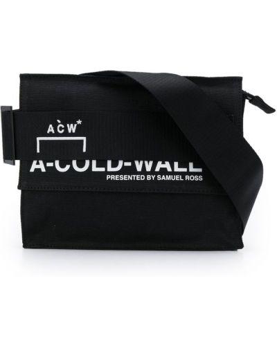 Поясная сумка на молнии с логотипом A-cold-wall*