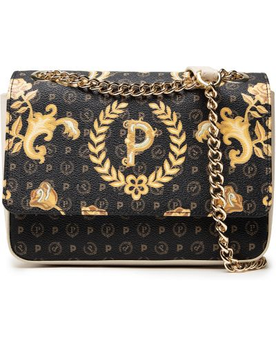 Czarna torebka elegancka Pollini