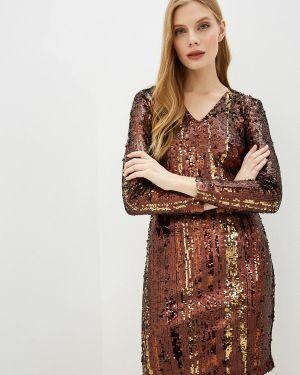 Коричневое вечернее платье Marks & Spencer
