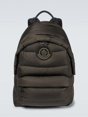 Plecak pikowany - zielony Moncler