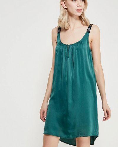 Платье осеннее зеленый Sack's
