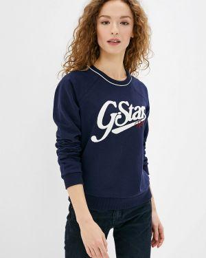 Толстовка синий G-star
