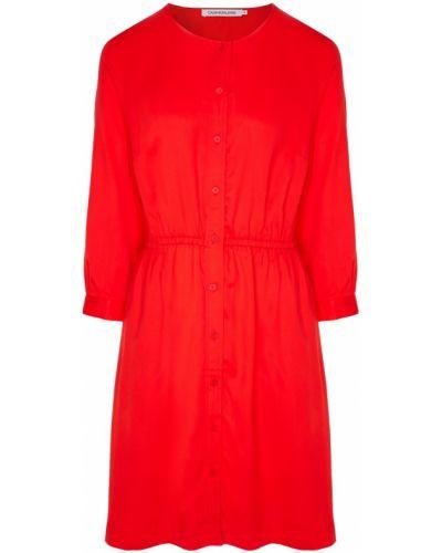 Платье мини миди на пуговицах Calvin Klein