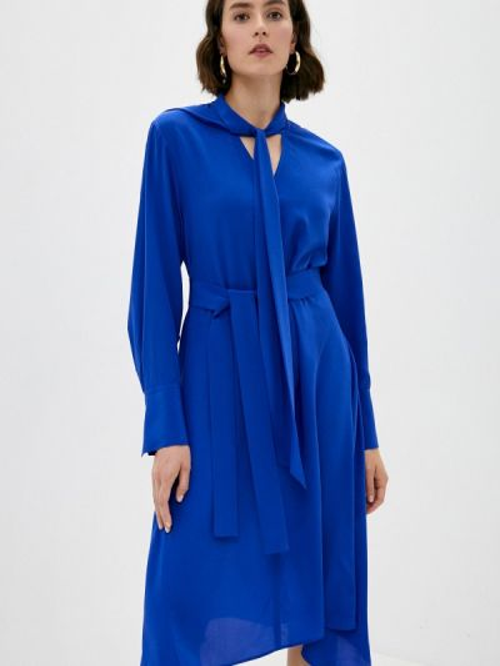 Платье - синее Joseph