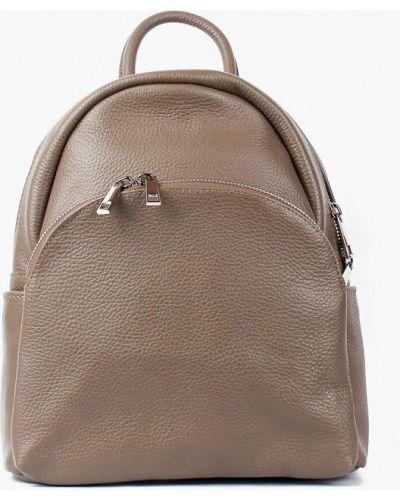 Кожаный рюкзак - коричневый Bella Bertucci