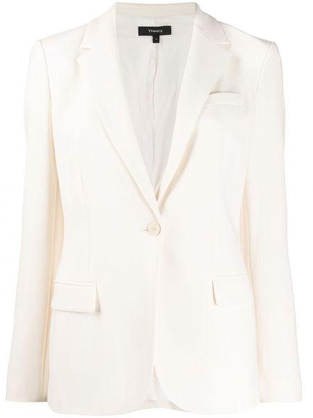 Пиджак в полоску с накладными карманами Theory