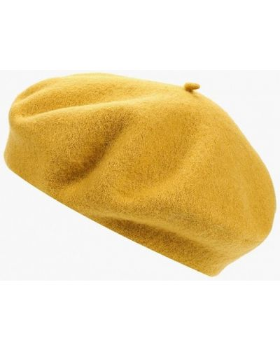 Желтый берет осенний S.oliver