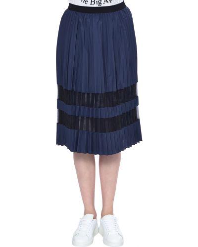Хлопковая юбка - синяя Iblues