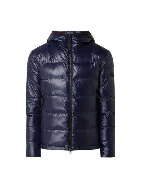 Niebieska kurtka pikowana Peuterey