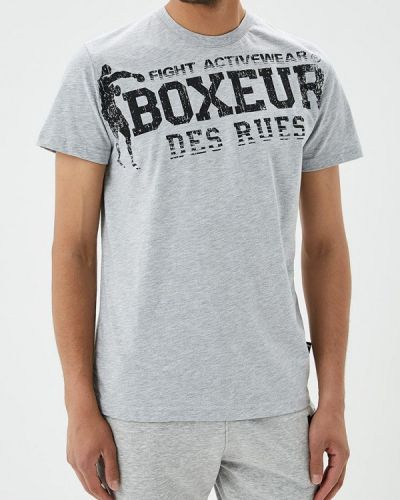 Серая футболка Boxeur Des Rues