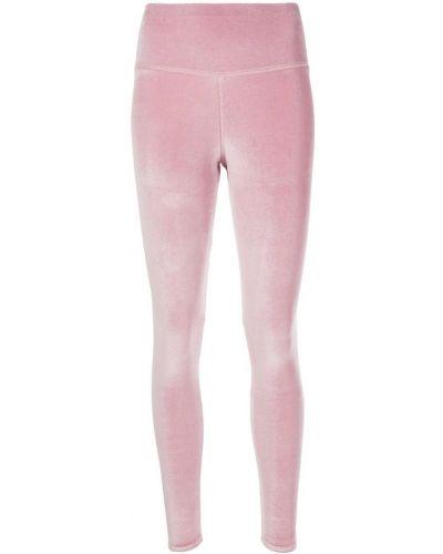 Леггинсы розовый спортивные Plein Sport