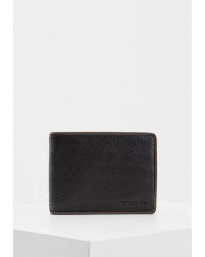 Черный кошелек Cerruti 1881