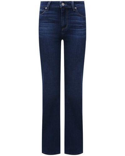 Хлопковые джинсы - синие Paige