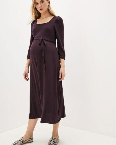 Фиолетовое платье для беременных Dorothy Perkins Maternity
