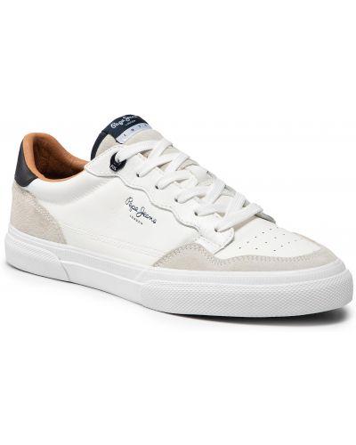 Tenisówki - białe Pepe Jeans