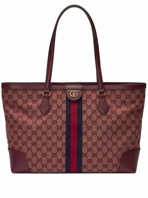 Złota torebka - brązowa Gucci