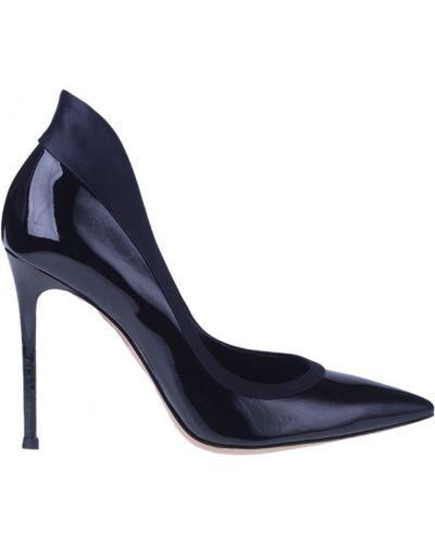 Кожаные туфли - черные Gianvito Rossi